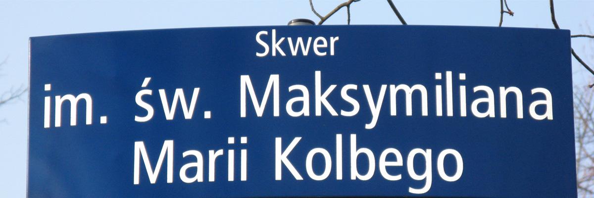 Skwer im. św. Maksymiliana Marii Kolbego